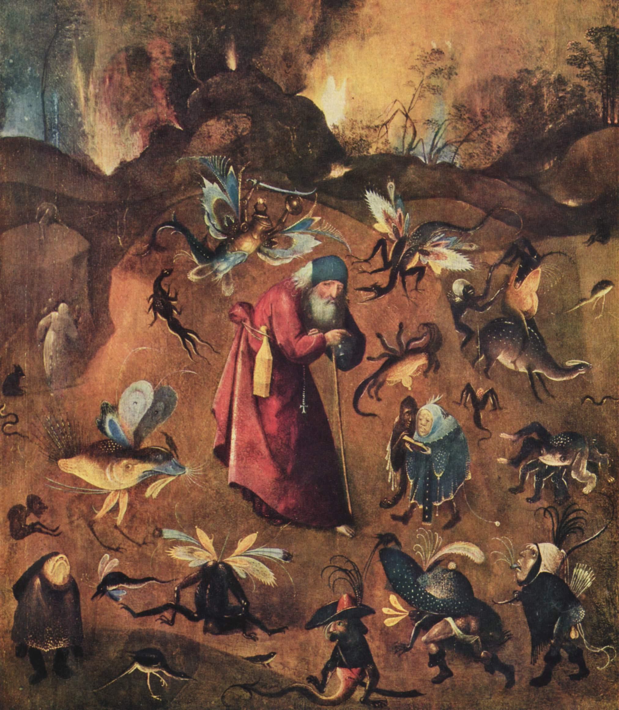 Обои мифология, картина, Горный Пейзаж с Искушением Христа, Ян Брейгель старший, религия. Разное foto 9