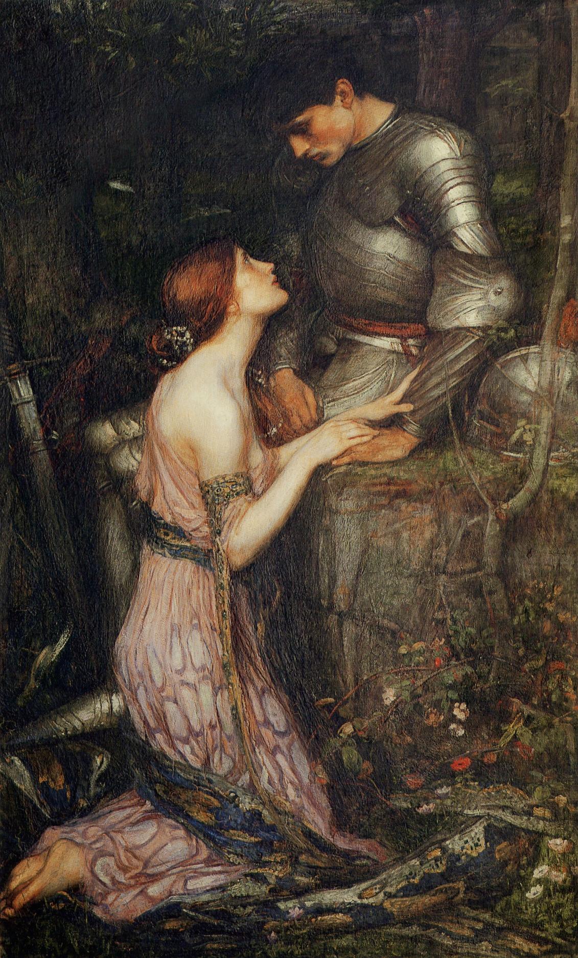 Рыцарь и девушка 16 фотография